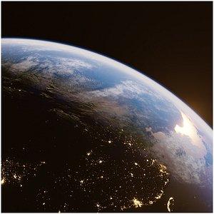 Earth for realtime render Eevee 3D model 3D model