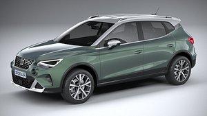 Seat Arona 2022 3D model