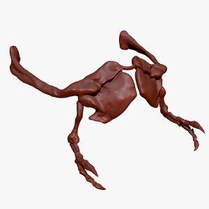 3D trex arm set model