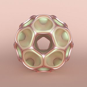 3D abstract object