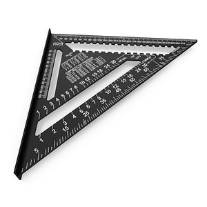 3D Triangle Square Ruler PBR