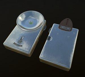 light flashlight 3D model