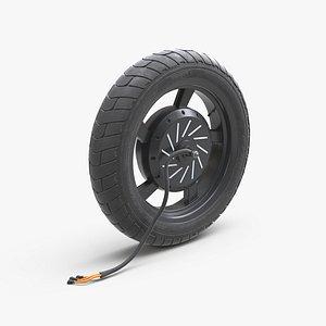 Hub wheel motor model