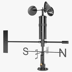 wind speed sensor 3D model