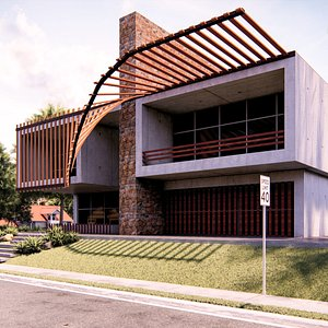 Modern Building 21 3D