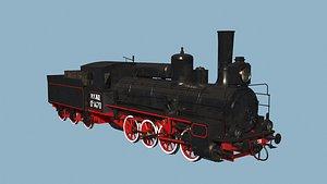 steam locomotive ov model