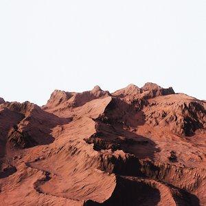 Desert Mountain 003 3D model