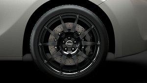 scion trd wheel 3D