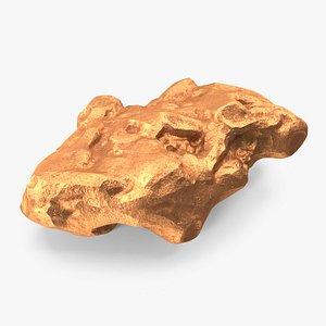 Copper Natural Mineral model