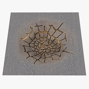 hole ground 3D model