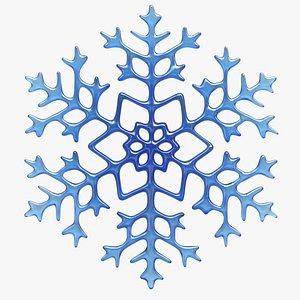 Snow Flake 1 3D model