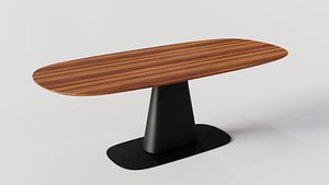 8950 Dining Table By Rolf Benz 3D