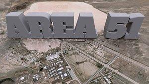 3D model Area 51 USAF
