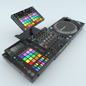 3D Professional DJ Pioneer Collection(1) model