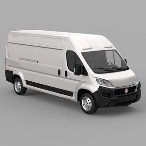 Fiat Ducato Cargo 2020 3D