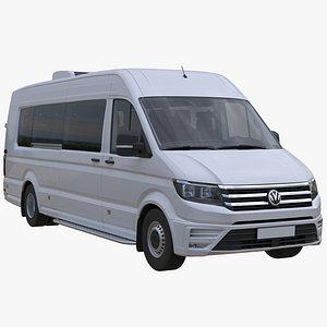 Passenger Bus VW Crafter50 2Gen L5H3 3D