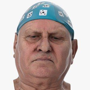 3D Homer Human Head Eyes Turn Down AU61 Clean Scan