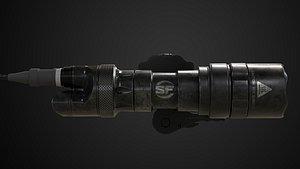 3D m322c scout light model