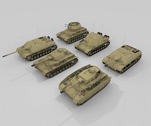 panzer iv model