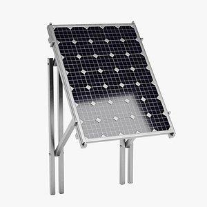 3D Solar Panel 1 model