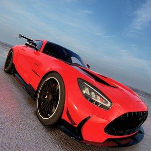 Mercedes AMG GT Black Series 2021 3D model 3D model