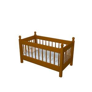 3D bed baby