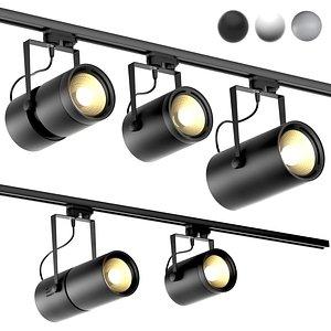 3D rotate lamps euro spot model