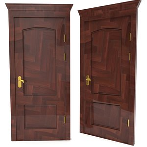 door designed pbr 3D