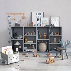 3D decor nursery model
