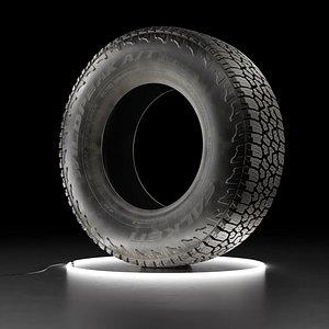 3D Car tire Falken Wildpeak AT3W