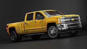 Chevrolet Silverado 3D model