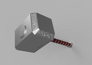 3D Mjolnir