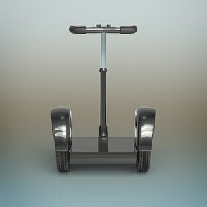 segway hoverboard 3D