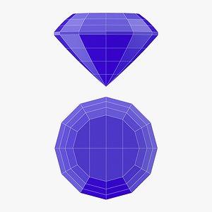 3D Trap Gemstone - 3D Printable