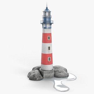 Antique Lighthouse model