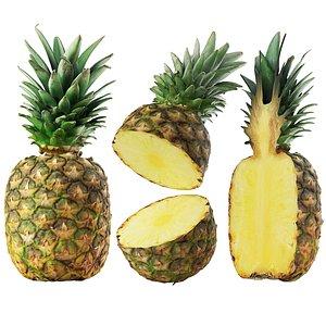 3D pineapple