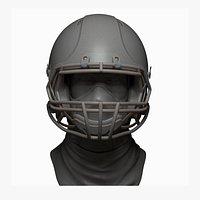 Football Helmet printable Zbrush file