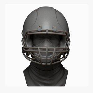 football helmet printable zbrush 3D