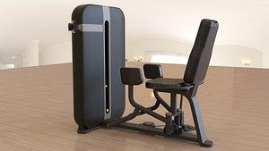 3D model gym equipment