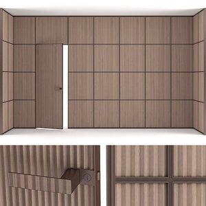 rimadesio modulor panel 3D