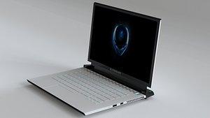alienware laptop 3D model