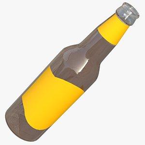 3D bottle beer