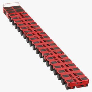 3D 18 axle lines modular
