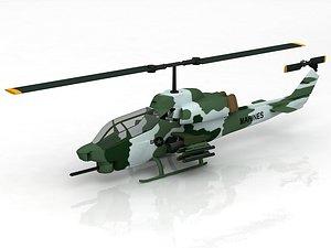 3D AH-1W