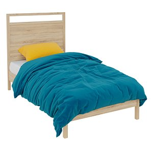3D model Berkeley Bed in Kids