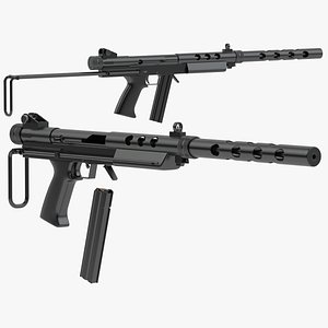 3D Feather Industries AT-22 Carbine model