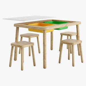 3D table children s