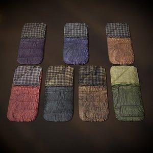 3D sleeping bags