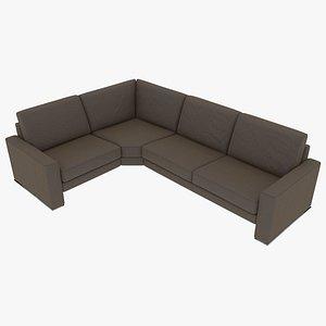 3D modular sofa model