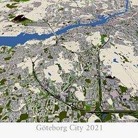 Gothenburg Goteborg City 2021 March data